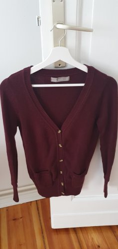 Bordeaux Zara Strickjacke