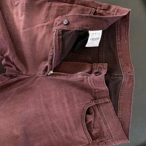 Brax Five-Pocket Trousers carmine cotton