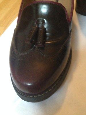 Clarks Zapatos Informales rojo amarronado-rojo zarzamora Cuero