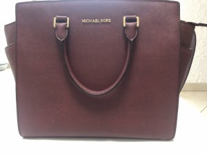 Michael Kors Shopper bordeau