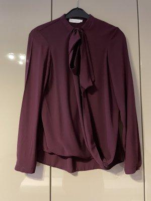 Paraphrase Tie-neck Blouse purple