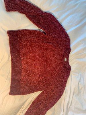 H&M Pullover a maglia grossa bordeaux
