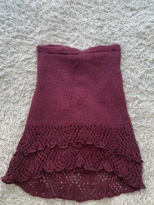 Wollen rok paars Acryl