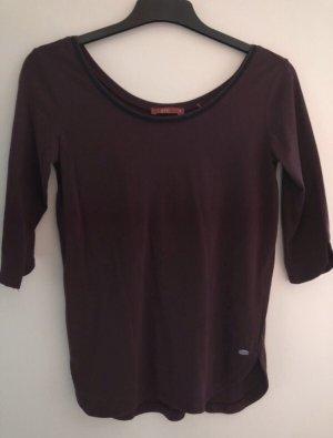 edc by Esprit Lang shirt bordeaux