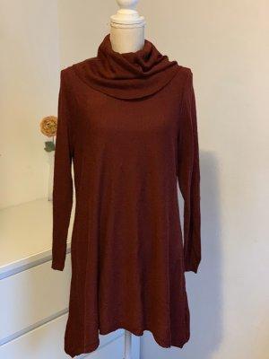 Bordeauxrotes Pullover-Kleid von LCWaikiki