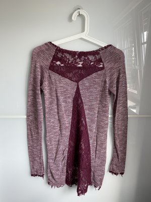 Aiki Longsleeve purple-bordeaux