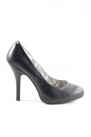 Bordello High Heels schwarz Business-Look