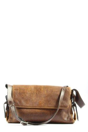 Borella Sac porté épaule brun style décontracté