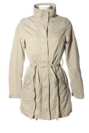 borelli Długa kurtka w kolorze białej wełny W stylu casual