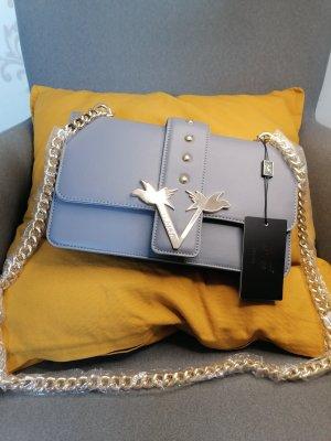 Versace 19.69 Borsa clutch grigio-oro Poliuretano