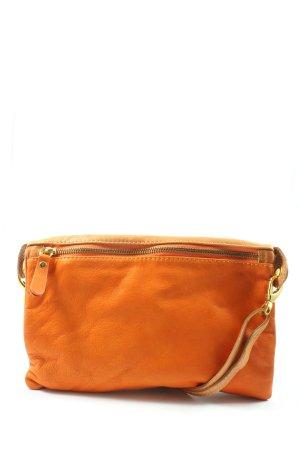 Borse in Pelle Sac bandoulière orange clair-turquoise style décontracté