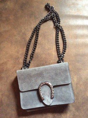 Borse in Pelle Italy Handbag dark grey
