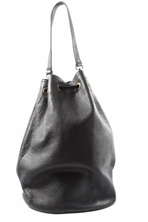 Borse in Pelle Italy Pouch Bag black casual look