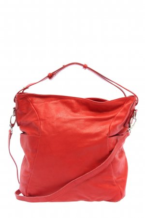 Borse in Pelle Italy Handtasche rot Casual-Look
