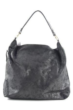 Borse in Pelle Italy Handtasche schwarz Casual-Look
