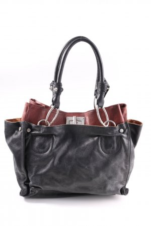 Borse in Pelle Italy Carry Bag black-brown casual look