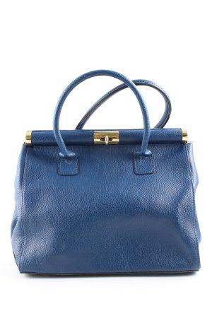 Borse in Pelle Italy Sac Baril bleu style d'affaires