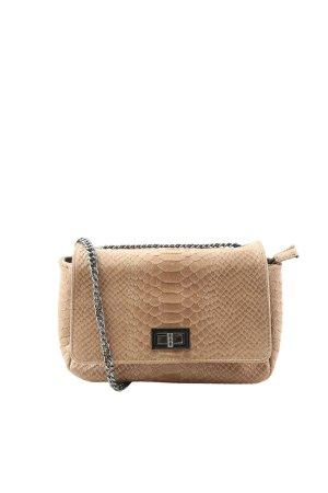 Borse in Pelle Italy Sac porté épaule brun motif animal style décontracté