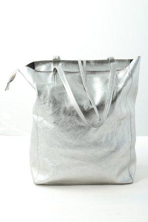 Borse in Pelle Italy Torba na ramię srebrny W stylu casual