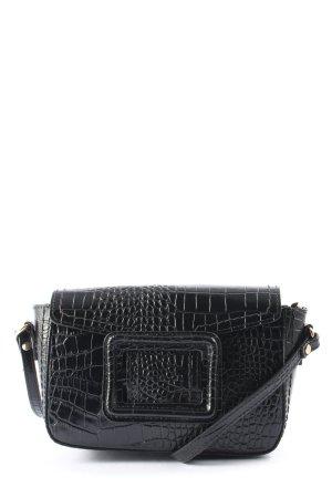 Borse in Pelle Italy Shoulder Bag black animal pattern casual look