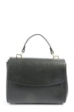 Borse in Pelle Italy Crossbody bag black flecked casual look