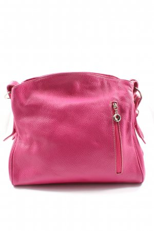 Borse in Pelle Shoulder Bag pink casual look