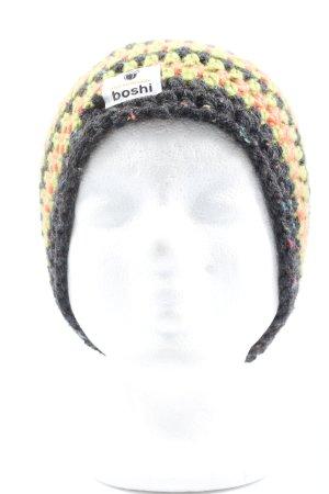 boshi Gorro tejido estampado a rayas look casual