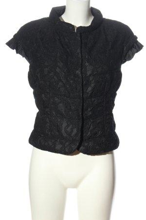 Bosideng Shirt Jacket black abstract pattern casual look