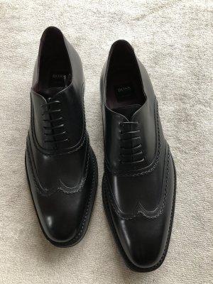 BOSS HUGO BOSS Sznurowane buty czarny