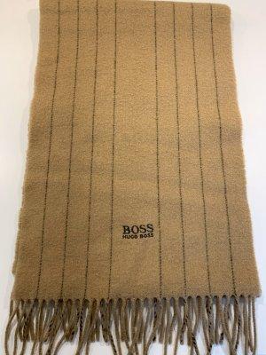 Hugo Boss Wollen sjaal camel Wol