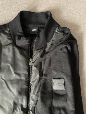 Boss Bomber Jacket black-grey