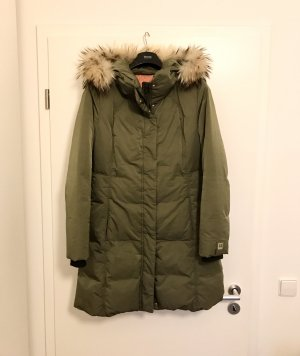 Boss Orange Down Coat olive green-khaki