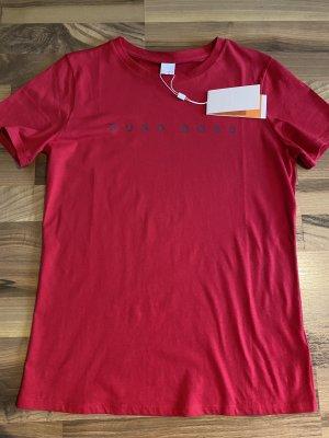 Hugo Boss T-shirt ciemnoczerwony