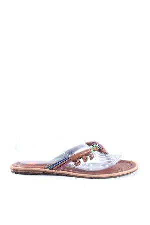 BOSS HUGO BOSS Flip flop sandalen veelkleurig casual uitstraling