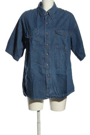 BOSS HUGO BOSS Chemise en jean bleu style décontracté