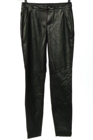 BOSS HUGO BOSS Pantalón de pinza alto negro look casual