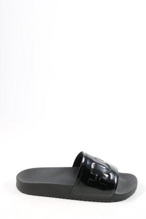 BOSS HUGO BOSS Comfortabele sandalen zwart casual uitstraling