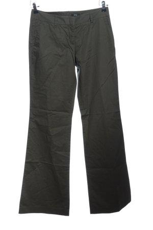 BOSS HUGO BOSS Pantalon pattes d'éléphant gris clair style décontracté