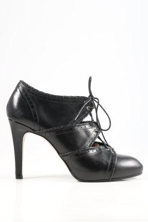 BOSS HUGO BOSS Escarpins à lacets noir style décontracté