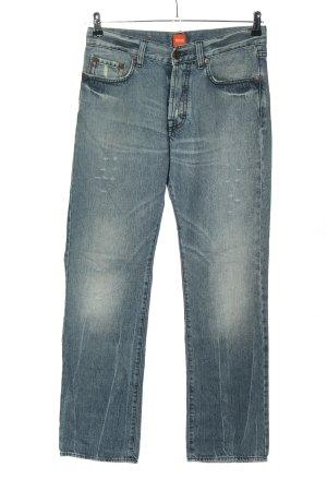 BOSS HUGO BOSS Straight Leg Jeans blue casual look