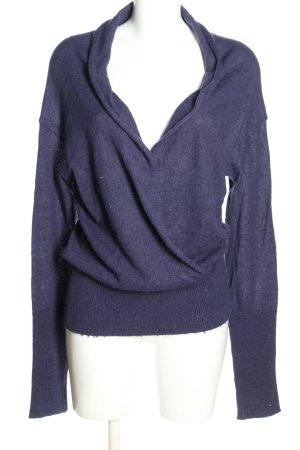 BOSS HUGO BOSS Sweter z dzianiny niebieski W stylu casual