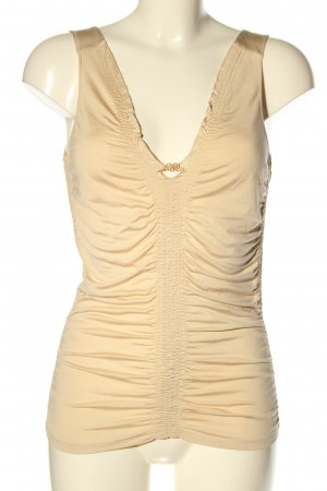 BOSS HUGO BOSS Frill Top natural white casual look