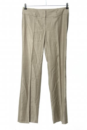 BOSS HUGO BOSS Wollen broek lichtgrijs zakelijke stijl