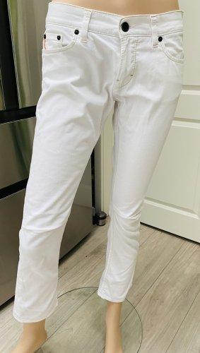 Boss Orange Jeans a 7/8 bianco