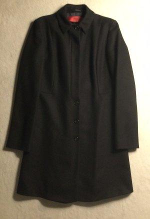 BOSS HUGO BOSS Manteau en laine noir