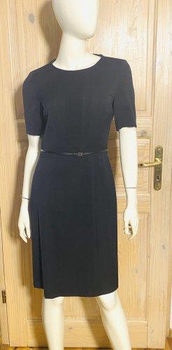 Hugo Boss Vestido de lana negro