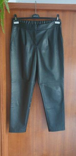 Hugo Boss Leather Trousers black
