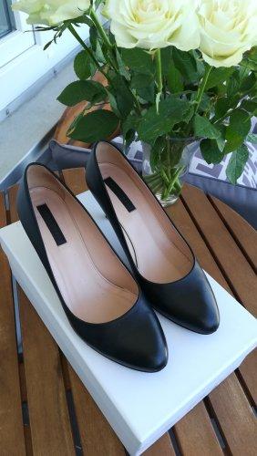 BOSS Lederpumps Dayla , schwarz, Gr. 38,5,  Absatzhöhe: 7 cm, schlicht