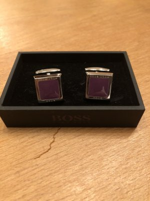 Hugo Boss Bouton gris lilas