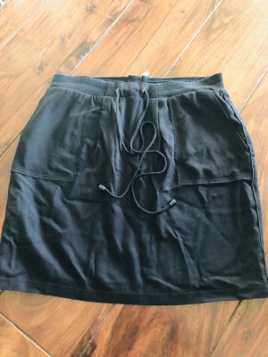 Boss Orange Linen Skirt black